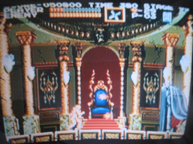 悪魔城年代記 悪魔城ドラキュラ(X68000版モード)
